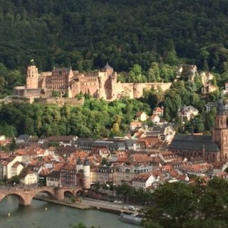 Heidelberg – Philosophers' Way and Bismarck Tower: a walk in nature and a spooky relic