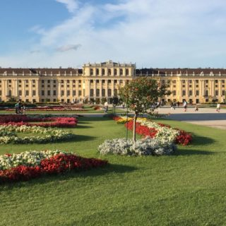 Schoenbrunn Palace and gardens