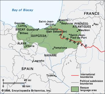 basque map