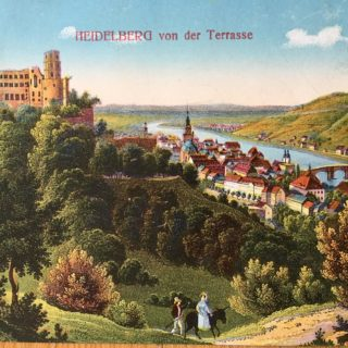 Travel journals – blogging in  Germany, 1912