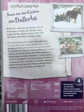 Neues von den Kindern aus Bullerbue dvd back