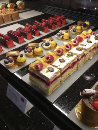 Cafe Central cake display