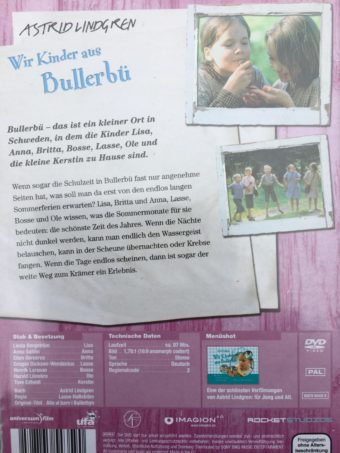 Wir Kinder aus Bullerbue dvd back