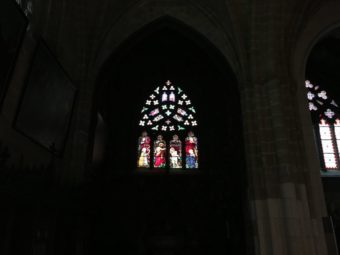 bayonne cathedral stained glass