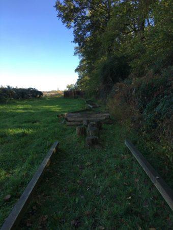 barefoot trail field