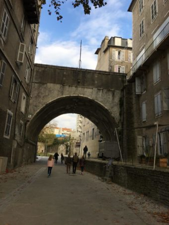 Pau rue Hedas bridge