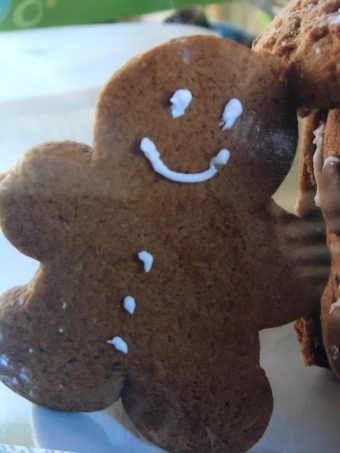 toddler gingerbread man