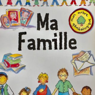 b small publishing Ma Famille cover