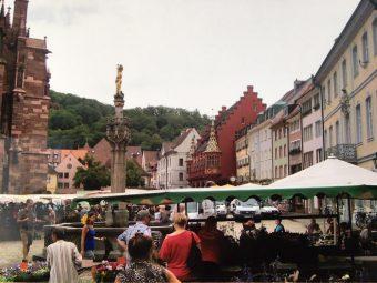 Freiburg market place