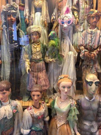 Schoenbrunn marionettes