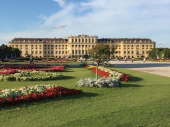 Schoenbrunn Palace and gardens