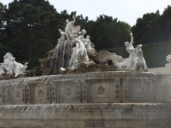 hoenbrunn Neptune Fountain