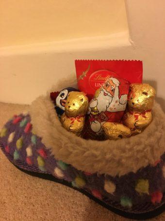 St Nicholas slipper