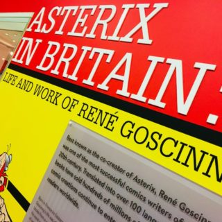 Asterix in Britain: exhibition about Rene Goscinny's comic creations