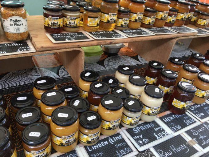 French market honeys